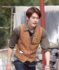 Kim woo bin filming for running man