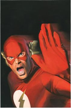 Wouldn't have thought that Flash would have a problem with cameras | Artist: Alex Ross