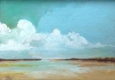 TURQUOISE SKY oil painting original painting 100 by PaintingWell