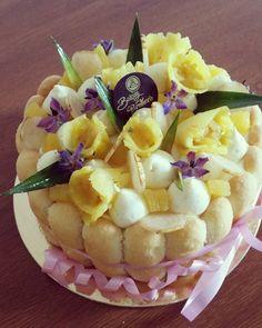 Charlotte ananas / vanille