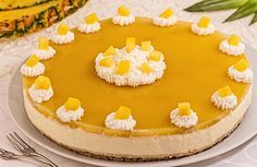 Cheesecake ai frutti tropicali