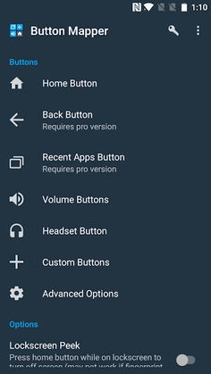 Button Mapper: Remap your keys v0.49 [Pro]   Button Mapper: Remap your keys v0.49 [Pro]Requirements:4.3 and upOverview:Button Mapper makes it easy to map custom actions to your volume buttons home button back and recent apps keys. Remap your buttons to launch any app shortcut or custom action.  Button Mapper makes it easy to map custom actions to your volume buttons home button back and recent apps keys. Remap your buttons to launch any app shortcut or custom action.  Assign custom actions…