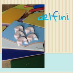 Piccoli delfini di sapone rosa e profumati