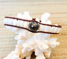MERMAID TREASURE  GYPSEA LUXE TAHITIAN PEARL MINI CUFF