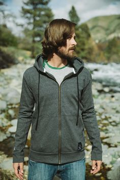 Men's Bighorn Hoodie - Whether you are keeping the cold or the sun at bay, our Bighorn Hoodie is there for you. Easy movement from stretch French Terry Cotton. There is no need to tradeoff function for comfort. French Terry, Hooded Jacket, Cold, Sun, Hoodies, Easy, Cotton, Jackets, Style