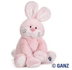 Webkinz Jr. Pink Bunny, $14.99 #Easter