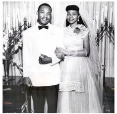Martin Luther King, Jr. and Coretta Scott got married on June 8, 1953, in Marion, Ala., at Coretta's parents' house. Martin's father, Reverend King, conducted the ceremony. Coretta's sister, Edith, was the maid of honor and Martin's brother, Reverend A.D. King,was the be