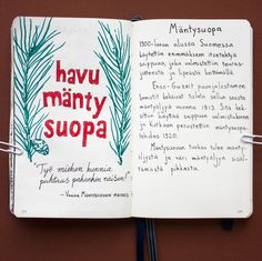 From sketchbook of Petri Fills #sketchbook #drawing #mäntysuopa