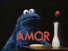 Find images and videos about love, amor and cookie monster on We Heart It - the app to get lost in what you love. Kermit, Luv Letter, Weak In The Knees, Fun Cookies, Weird World, Vintage Movies, Happy Valentines Day, Graphic Illustration, Illustrations