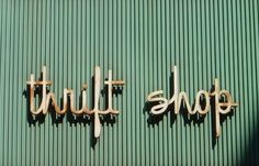Tips For Thrift Shop Shopping