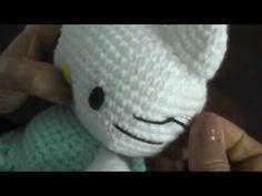 De la super maestra Esperanza Rosas, Cómo hacer Kitty amigurumi, esta es la parte 7
