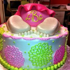 #Baby #butt cake by Cake & All Things Yummy in Kernersville, NC.