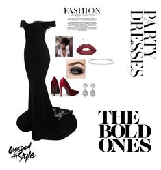 """""""""""Little"""" black dress"""" by teejaynicole02 on Polyvore featuring Suzanne Kalan and ASAP"""