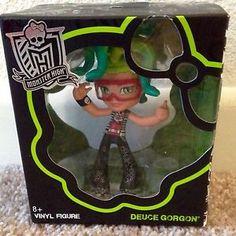 Monster High Vinyl Deuce Figure Doll New in Hand | eBay