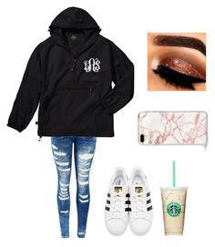 """""""Untitled #91"""" by denisse-arellanoaguirre on Polyvore featuring adidas Originals"""