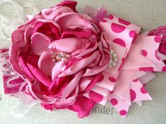 Pink Berry Swirl Headband...Gorgeous! Cozette Couture. via Etsy.
