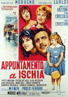"""""""Appointment in Ischia"""", 60s italian comedy,"""