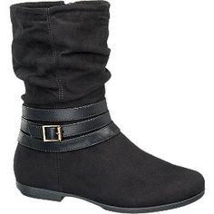 #Graceland #Boots #schwarz für #Kinder 1249365 0 Warmfutter mit Reißverschluss Farbe schwarz Laufsohle TPR Obermaterial Synthetik Innenmaterial Fleece
