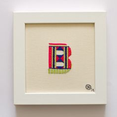 B Sweater Letter