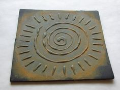 lots of ways to make clay stamps with fun foam, foam core carving stuff