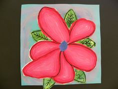 3rd grade Georgia O'Keeffe paintings-would be fun to do for art during our plant unit.