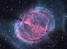 Foto da M27, a nebulosa Altere. Algo semelhante acontecerá com o nosso sol.