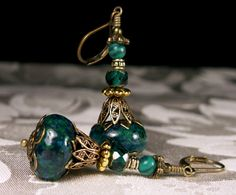 Hey, I found this really awesome Etsy listing at https://www.etsy.com/listing/185613174/peacock-blue-green-jeannie-bottle