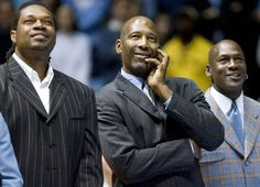 Perkins, Worthy & Jordan, #UNC #Tarheels