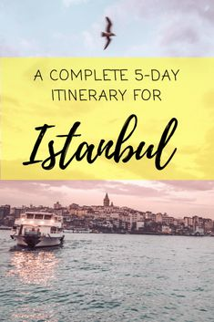 Complete Itinerary of Things to Do in Istanbul Places to travel 2019 Best things to do in Istanbul. What to do in Istanbul. Travel itinerary for Istanbul and make the best out of your trip. Turkey Destinations, Travel Destinations, Istanbul Travel Guide, Day Trips From Istanbul, Istanbul Tourism, Visit Istanbul, European Travel, Asia Travel, Cool Places To Visit