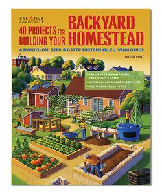 Look at this #zulilyfind! 40 Projects for Building Your Backyard Homestead #zulilyfinds