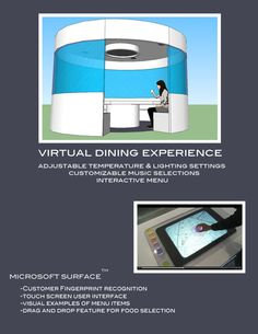 Virtual Dining Experience w/ SketchUp