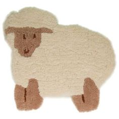 The Nursery Little Lambie Rug comes in a playful cut-out design that will surely Be a hit in the nursery. Made from Polyester, our adorable little lamb will be the perfect choice for your little one's bedroom. Rugs And Mats, Cut Out Shapes, Nursery Rugs, Cut Out Design, Large Rugs, Creative Play, Modern Rugs, Soft Furnishings, Little Ones