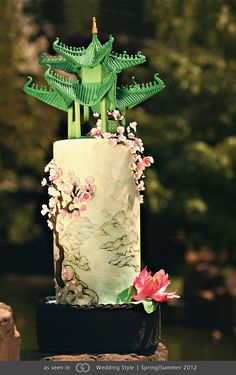Cake by Heather Barranco Dreamcakes • Photography by Cate Scaglione Photography