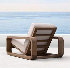 Barts Lounge Chair - in 2020 Modern Wood Furniture, New Furniture, Pallet Furniture, Modern Chairs, Furniture Design, Furniture Ideas, Modern Patio, French Furniture, Classic Furniture
