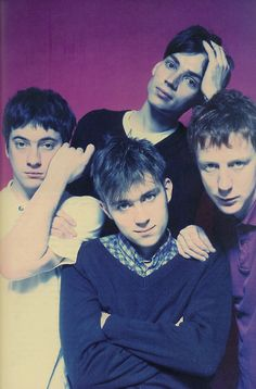 Oasis may have won the battle of Britpop, but Blur won the war. Still going strong, whenever they feel like selling out a festival, a park or a stadium! Indie Music, Music Icon, My Music, Jamie Hewlett, Blur Band, Charlie Brown Jr, The Wombats, Britpop, Gorillaz