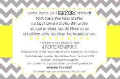 Adorable Child Bathe: Shock Child Bathe Invites Wording As An Inspiration To Make...
