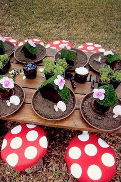 28 Best Fairy Garden Birthday & Tea Party Ideas for Firls