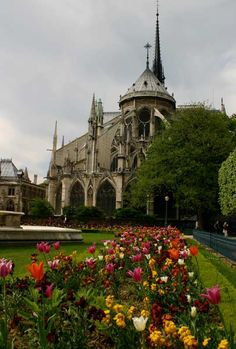 Notre Dame Cathedral, Paris (Photo credit: Flickr User, IceNineJon)    Tradition has it that Notre Dame's first stone was laid in 1163 in the presence of Pope Alexander III.