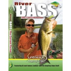 Lindner's Angling Edge River Bass Fishing DVD $14.95