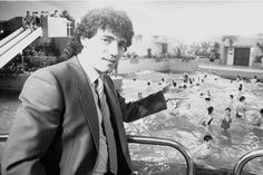Scunthorpe United legend Kevin Keegan at what was the new Scunthorpe Leisure Centre
