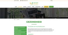 Website voor We care for  you #Website #Webdesign #ouderenzorg #zorg aan huis