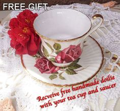 Paragon Vintage Tea cup and saucer By by LoveCareHandmade on Etsy