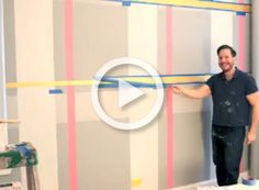 Project Nursery - How to Paint Plaid Video