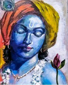 Krishna Shiva Art, Krishna Art, Hindu Art, Shree Krishna, Radhe Krishna, Radha Krishna Paintings, Ganesha Painting, Buddha Painting, Lord Krishna Images