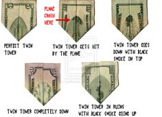 Twin Towers on Money by haloflooder.deviantart.com on @deviantART