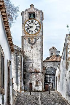 Santa Maria do Castelo Church - Tavira, Algarve, Portugal.