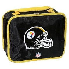 Pittsburgh Steelers Insulated Lunch Box #PittsburghSteelers Visit our website for more: www.thesportszoneri.com