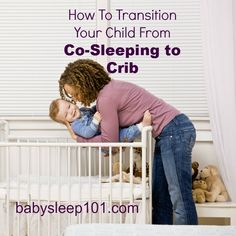 Learn how to successfully transition your child from co-sleeping to bed sleeping…