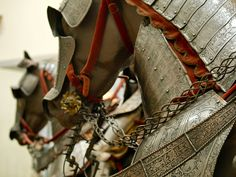 Armored Horses by Caperton27, via Flickr