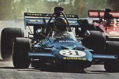 David Hobbs  - 1971 - Penske-White Racing - McLaren M19A